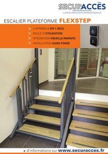 Documentation commerciale de l'escalier Flexstep