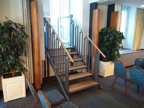 Escalier Flexstep en position escalier