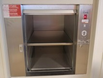 Porte Inox à guillotine ouverte SKG ISO-A