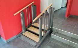 Installation d'un Flexstep 3 marches dans la maison d'un particulier
