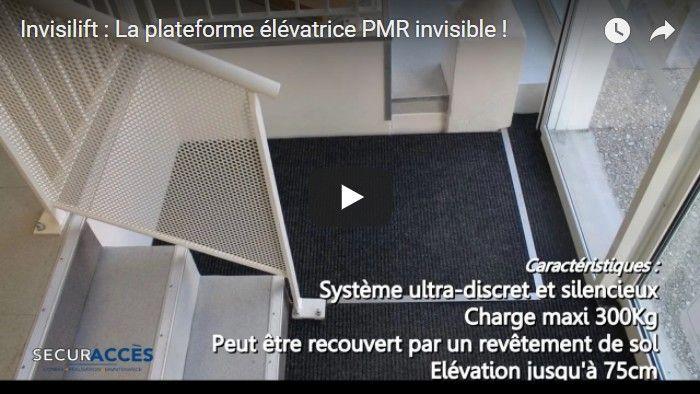 plateforme l vatrice pmr invisilift. Black Bedroom Furniture Sets. Home Design Ideas